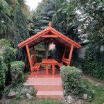 10 személyes kerti szaletli 2.5m×2.5 m